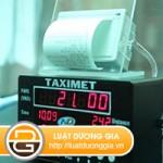 Thời điểm áp dụng xử phạt xe taxi không có thiết bị in hóa đơn