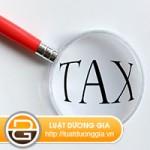 Dịch vụ kê khai thuế cho doanh nghiệp