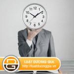 Thời gian làm việc của người lao động được quy định như thế nào?