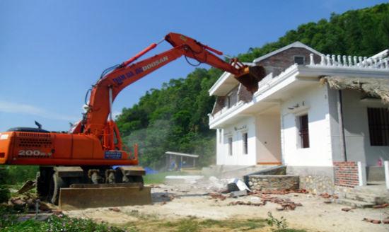Trình tự tháo dỡ công trình xây dựng trái phép