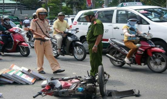 Bị xe máy đâm mức bồi thường thiệt hại xác đinh như thế nào?