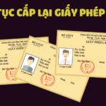 Thẩm quyền cấp lại giấy phép lái xe bị mất, hỏng, thất lạc