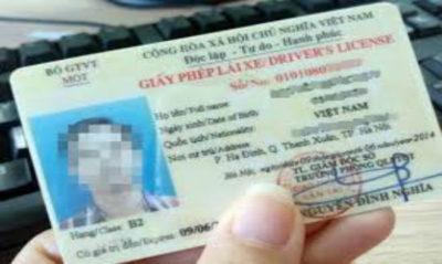 Mức xử phạt đối với lỗi không mang bằng lái ô tô và xe máy