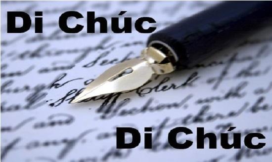 Điều kiện để di chúc viết tay có hiệu lực