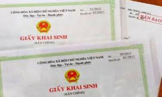 Thủ tục làm giấy khai sinh cho con khi không có đăng ký kết hôn