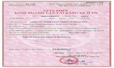 Điều kiện cấp giấy phép kinh doanh vận tải xe ô tô