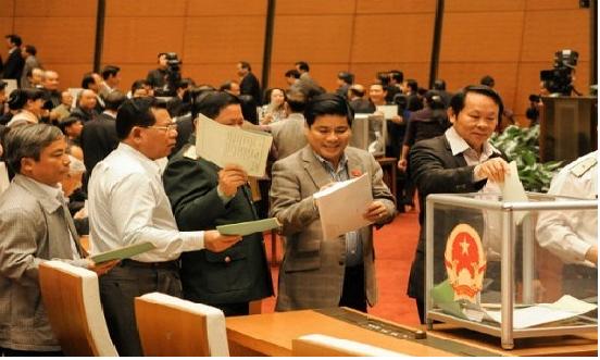 Lấy phiếu tín nhiệm, bỏ phiếu tín nhiệm của Hội đồng nhân dân